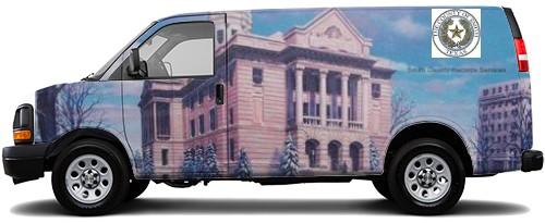 Cargo Van Wrap #52494