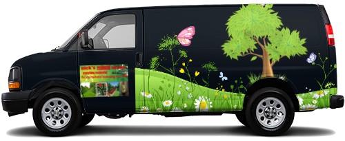 Cargo Van Wrap #52503