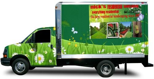 Box Truck Wrap #52510