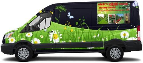 Transit Van Wrap #52533