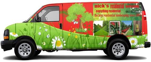 Cargo Van Wrap #52536
