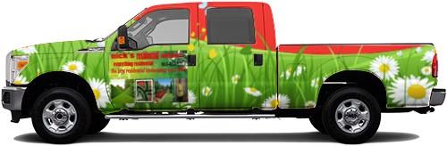 Truck Wrap #52537