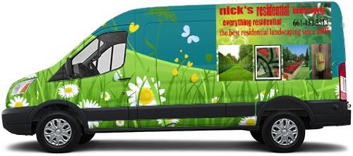 Transit Van Wrap #52545