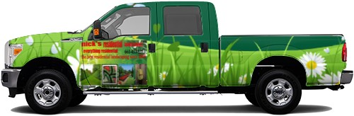 Truck Wrap #52557
