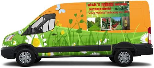 Transit Van Wrap #52819