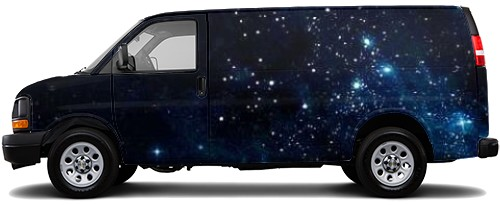 Cargo Van Wrap #52832