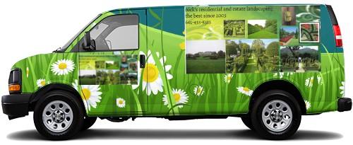 Cargo Van Wrap #52893