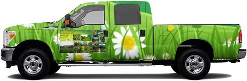 Truck Wrap #52900