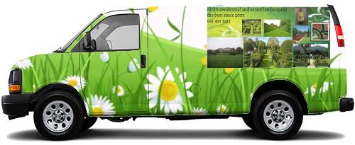 Cargo Van Wrap #52905