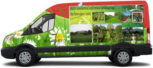 Transit Van Wrap #52971