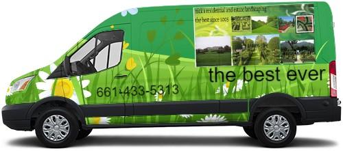 Transit Van Wrap #52986