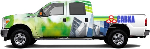 Truck Wrap #53208