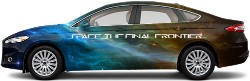 Space, the final frontier... Sedan Wrap