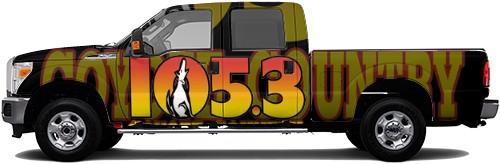 Truck Wrap #53348