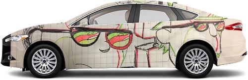 Sedan Wrap #53374