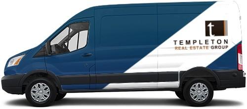 Transit Van Wrap #53458