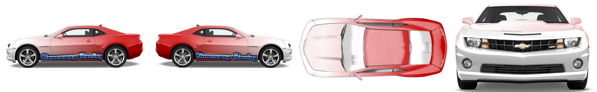 Muscle Car Wrap #537