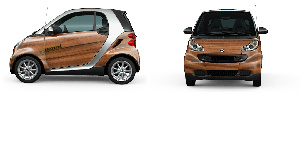 smart car wood Ultra Compact Wrap