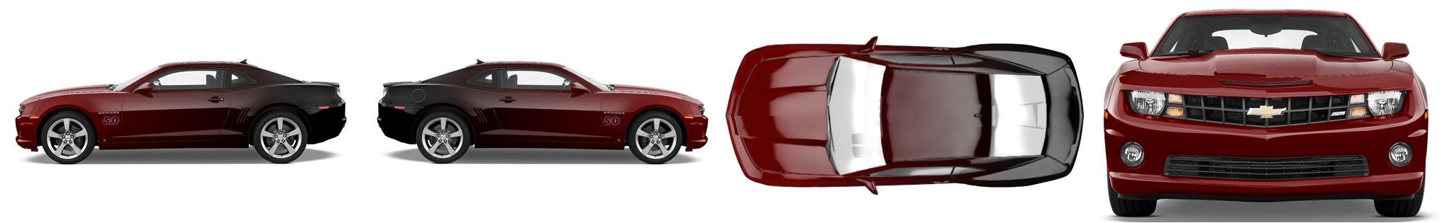Muscle Car Wrap #977