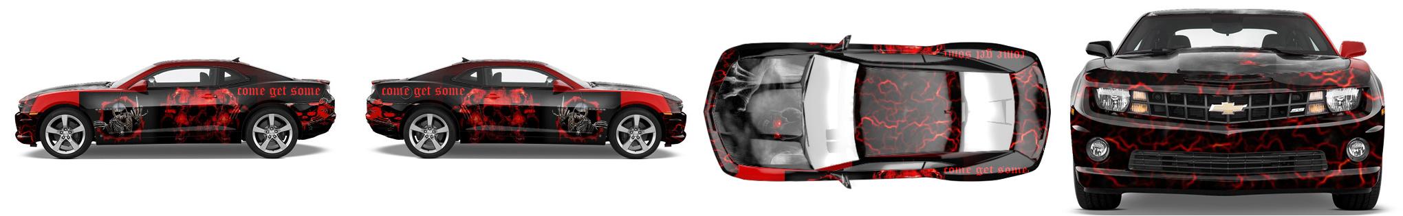 Muscle Car Wrap #1004