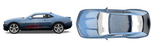 car wrap Muscle Car Wrap