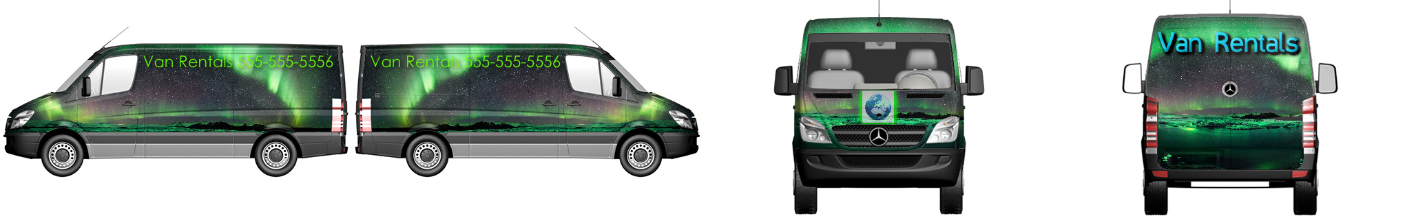 Van Wrap #5606