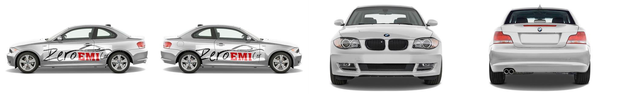 Zero Emi Car Sports Coupe Wrap