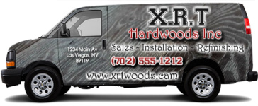 Woods Design by LocalAdz.net - Cargo Van Wrap