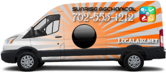 Mechanical Design by LocalAdz.net - Transit Van Wrap