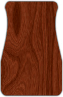 Regular Wood Grain Car Mats Front