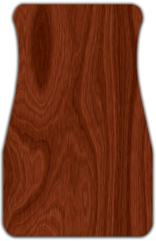 Regular Wood Grain Car Mats Front