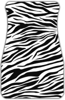 Zebra Stripes Car Mats Front