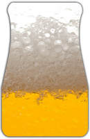 Beer Suds Car Mats Front