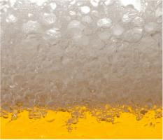 "Beer Suds Car Magnet 14""W x 12""H"