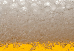 """Beer Suds Car Decal 26""""W  x 18""""H"""