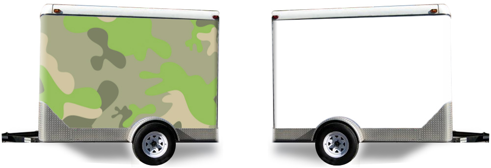 Fun Camo Trailer Wrap