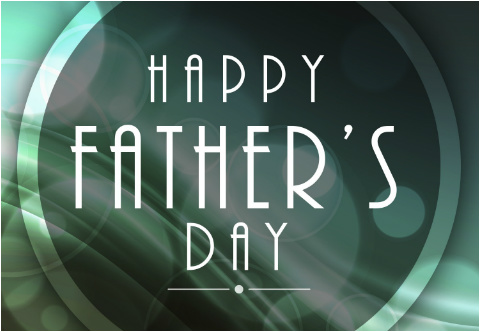 """1920's Style Fathers Day Car Decal 26""""W  x 18""""H"""