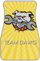 Team Dawg Car Mats Front