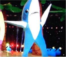 """Left Shark Car Magnet 14""""W x 12""""H"""
