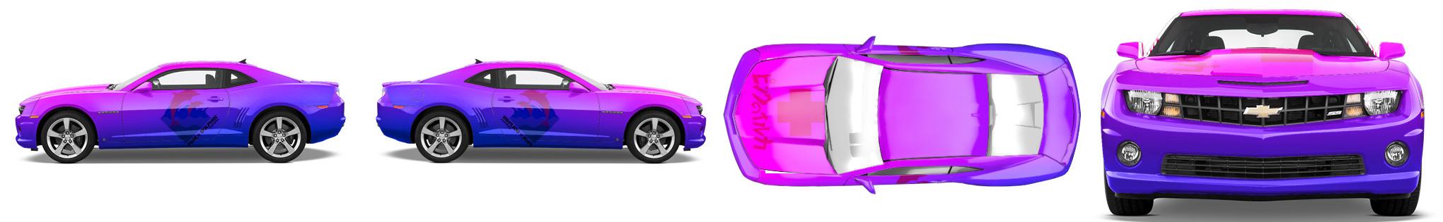 Muscle Car Wrap #13291
