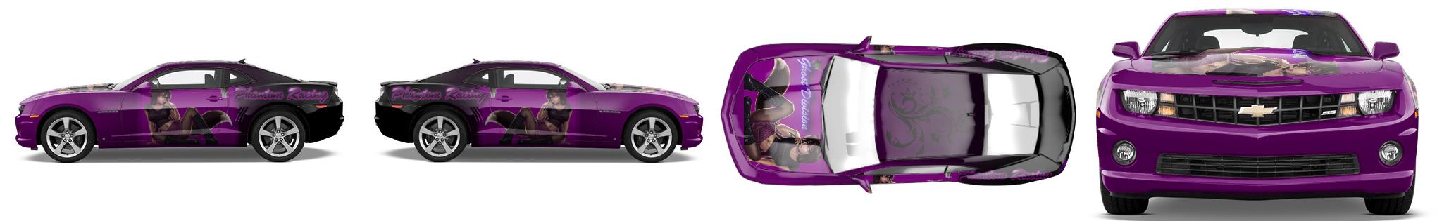 Muscle Car Wrap #14434