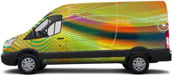 Transit Van Wrap