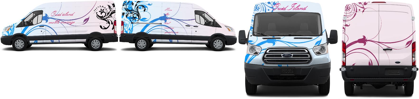 Transit Van Wrap #31656