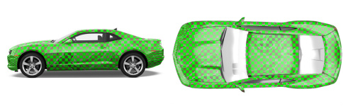 Muscle Car Wrap