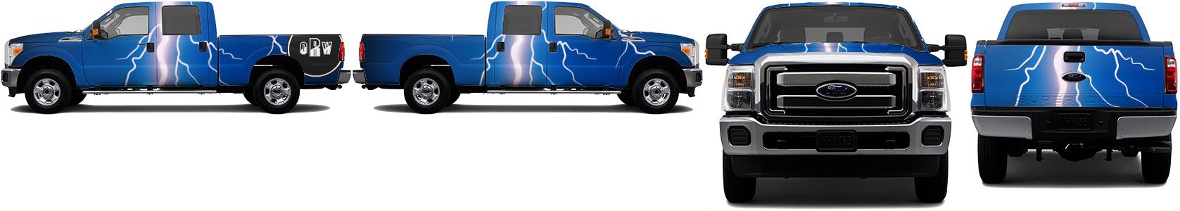 Truck Wrap #34211