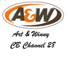 A&W Car Decal 14W  x 12H