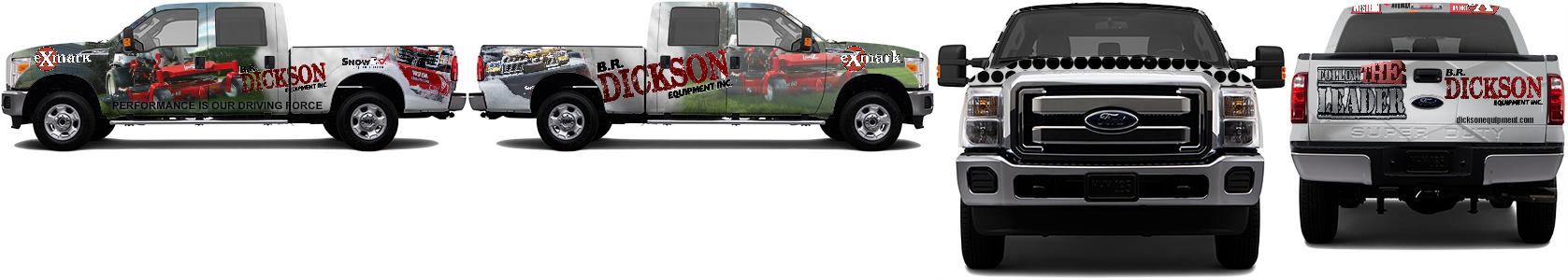 Truck Wrap #43814