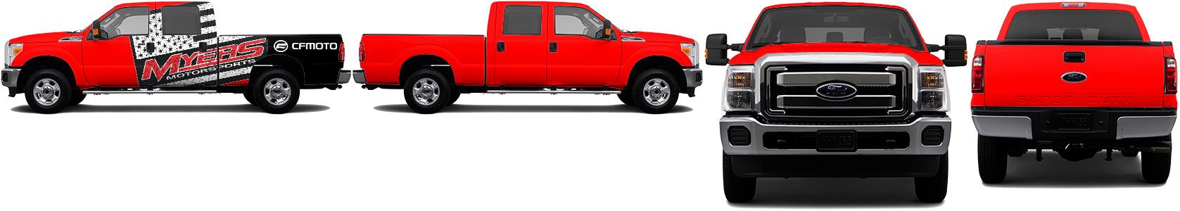 Truck Wrap #45005