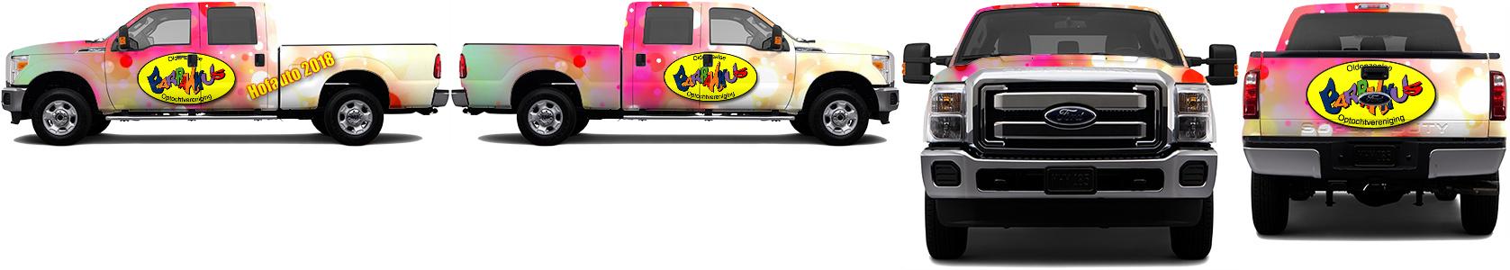 Truck Wrap #45066