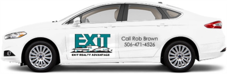 Rob Brown Realtor Sedan Wrap